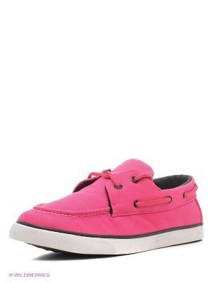 Мокасины 4U. Цвет: розовый