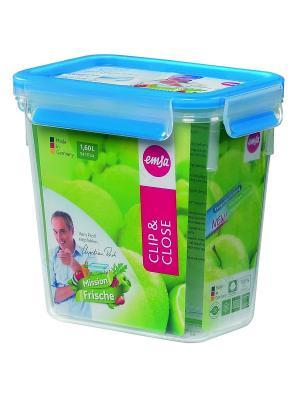 Контейнер EMSA CLIP&CLOSE пластик 1.1л 508541. Цвет: прозрачный