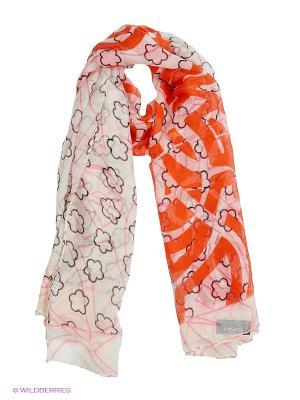 Платок Migura. Цвет: оранжевый, бежевый
