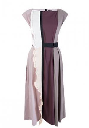 Платье NOLO. Цвет: разноцветный