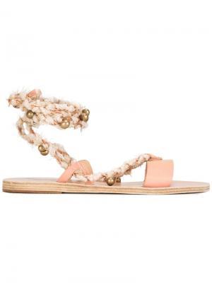 Босоножки Lachesis Ancient Greek Sandals. Цвет: телесный