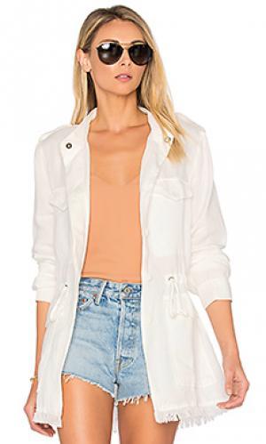 Куртка too cool for school Sanctuary. Цвет: белый