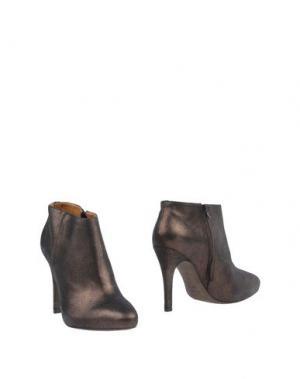 Полусапоги и высокие ботинки VICENZA). Цвет: темно-коричневый