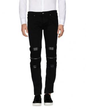 Повседневные брюки URBAN LES HOMMES. Цвет: черный