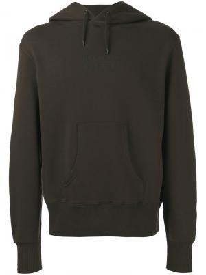 Logo back hoodie Belstaff. Цвет: зелёный