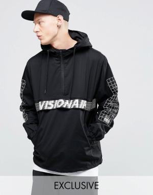 Vision Air Куртка через голову. Цвет: черный