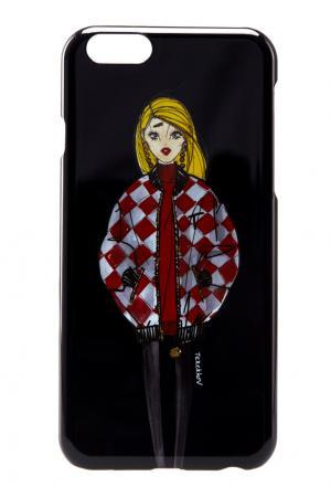 Глянцевый чехол для iPhone 6 Alexander Terekhov. Цвет: черный
