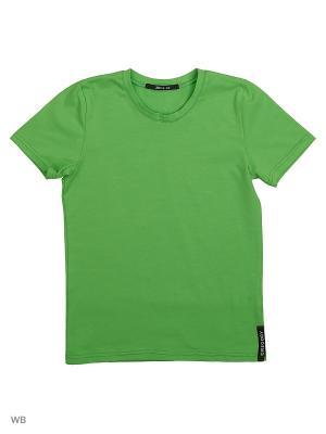 Футболка Gregory. Цвет: зеленый