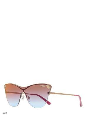 Очки солнцезащитные VOGUE eyewear. Цвет: розовый