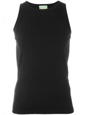 Open back tank Aries. Цвет: чёрный