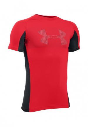 Футболка спортивная Under Armour. Цвет: красный