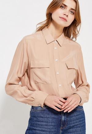 Блуза Ли-лу. Цвет: бежевый