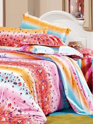 Комплект постельного белья Dream time. Цвет: розовый, голубой