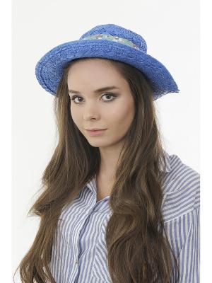 Шляпа Happy Charms Family. Цвет: синий, белый, зеленый