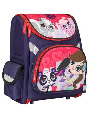 Рюкзак Littlest Pet Shop. Цвет: темно-фиолетовый