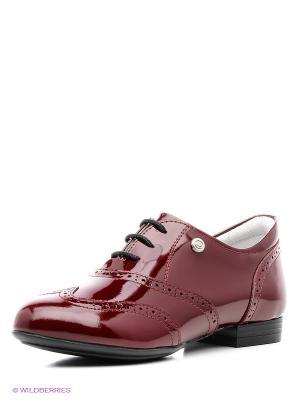 Туфли ELEGAMI. Цвет: бордовый