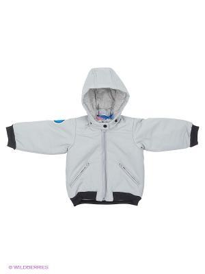 Куртка I TD JACKET adidas. Цвет: светло-серый