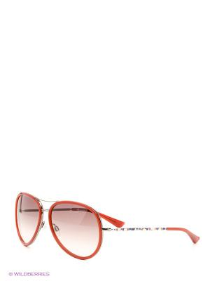 Солнцезащитные очки MM 556S 07 Missoni. Цвет: красный