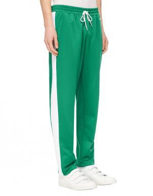 Спортивные брюки Ami. Цвет: зеленый