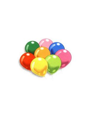 25 разноцветных шариков ассорти Everts. Цвет: красный