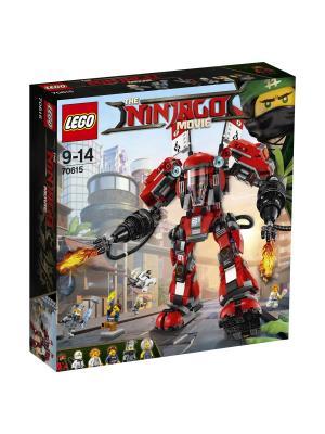Ninjago Огненный робот Кая 70615 LEGO. Цвет: красный, синий