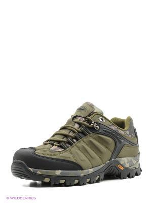 Спортивные ботинки Ascot. Цвет: хаки