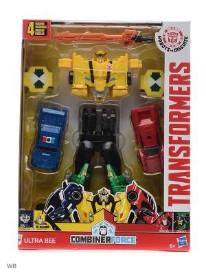 Трансформеры роботы под прикрытием: Тим-Комбайнер Transformers. Цвет: желтый