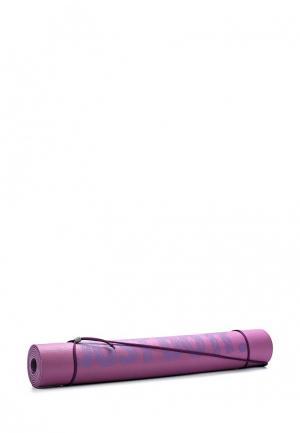 Коврик для йоги Nike. Цвет: фиолетовый