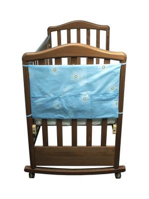 Карман Лежебоки Сонный гномик. Цвет: голубой