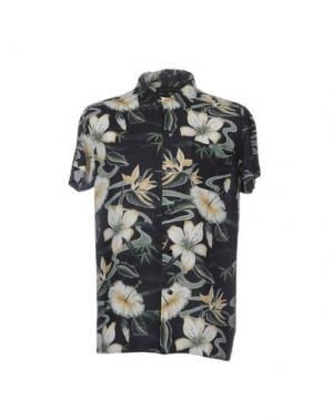 Pубашка DEUS EX MACHINA. Цвет: черный