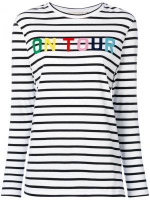 On Tour stripe T-shirt Être Cécile. Цвет: белый