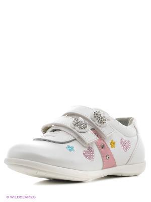 Ботинки Makfly. Цвет: белый
