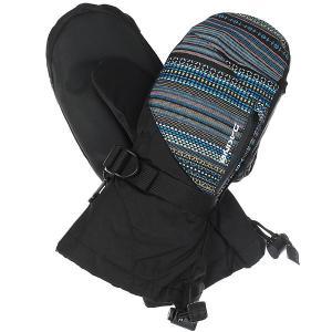 Варежки женские  Sequoia Mitt Cortez Black Dakine. Цвет: черный