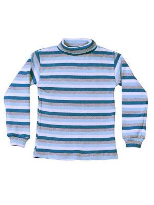 Водолазка с начесом МИКИТА. Цвет: серо-голубой, светло-голубой, серый меланж