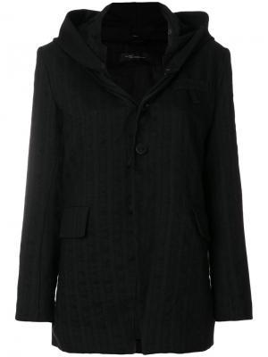 Легкая куртка Barbara Bologna. Цвет: чёрный