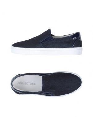 Низкие кеды и кроссовки PROJECT ONE. Цвет: синий