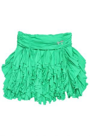 Юбка FuN&FuN. Цвет: зеленый