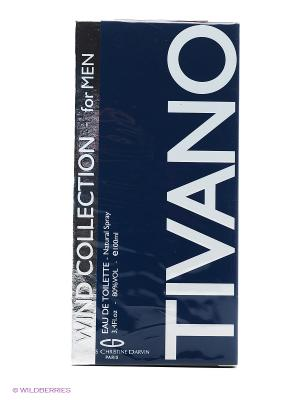 WIND COLLECTION TIVANO FOR MEN EDT 100ML SPRAY CHRISTINE DARVIN. Цвет: прозрачный