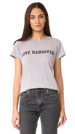 Футболка Love Hangover A Fine Line. Цвет: серый меланж
