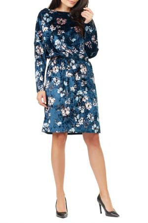 Dress Awama A201_NAVY