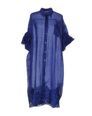 Платье до колена JUNYA WATANABE COMME DES GARÇONS. Цвет: темно-синий