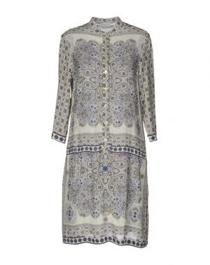 Короткое платье ZANETTI 1965. Цвет: синий