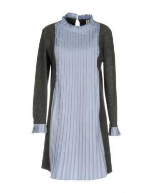 Короткое платье SOUVENIR. Цвет: небесно-голубой