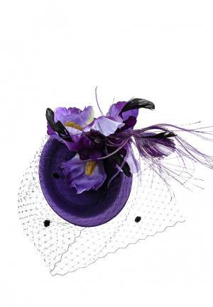 Вуалетка Diana Pavlovskaya. Цвет: фиолетовый
