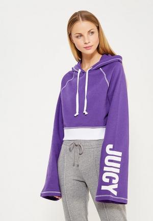 Худи Juicy by Couture. Цвет: фиолетовый