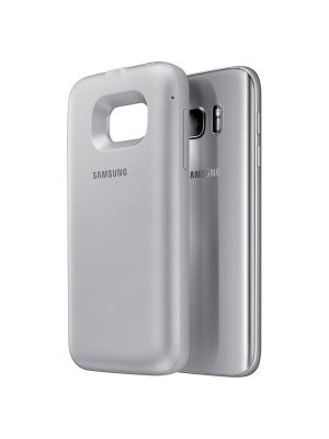 Чехол для Galaxy S7 Samsung. Цвет: серебристый