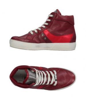 Высокие кеды и кроссовки D'ACQUASPARTA. Цвет: пурпурный