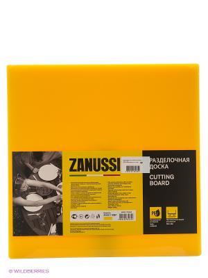 Разделочная доска 35Х35Х1,9 см желтая Zanussi. Цвет: желтый