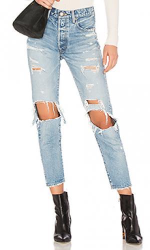 Зауженные джинсы hayden Moussy. Цвет: none