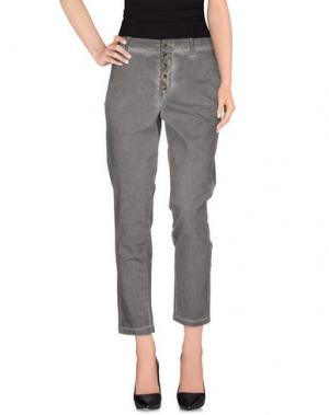 Повседневные брюки MET & FRIENDS. Цвет: свинцово-серый